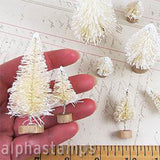 Retro Bottle Brush Tree Set - Dyeable