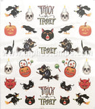 Trick or Treat Tiny Halloween Decals