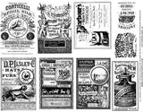 Victorian Ads #2 Collage Sheet