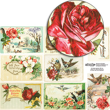 Victorian Garden Collage Sheet