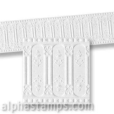 Embossed Wainscoting