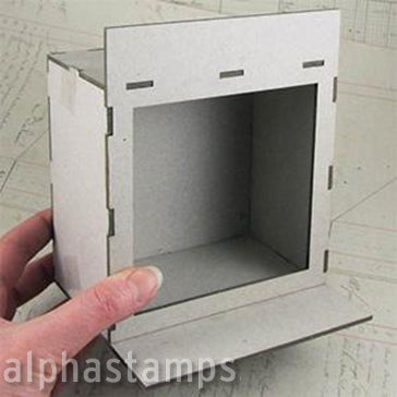 Half Scale Window Room Box