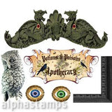 Witches' Apothecary Cabinet Set Download