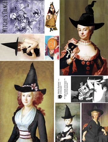 Witchy Business Collage Sheet