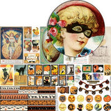 Witchy Mirror Trims Collage Sheet