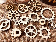 Wooden Gear Mix