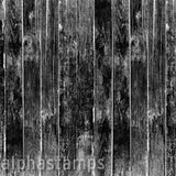 Black Woodgrain Scrapbook Paper