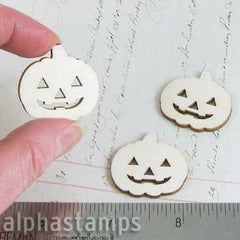 Wood Jack-o-Lantern Cut-Outs