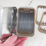 Altoids Tin Insert Frames - Wrought Iron