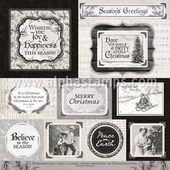 Christmas Melody Scrapbook Paper*