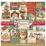 Christmas Vintage 12x12 Paper Pad - OUT OF STOCK