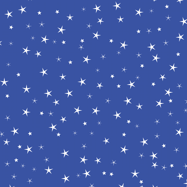 star gift wrapping paper blue cocopate