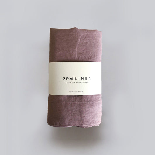 Rosewood Pure Linen Wrap