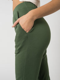 Be-with Pants For Touches - Forest Green