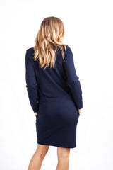 """Hold me"" Dress Navy"