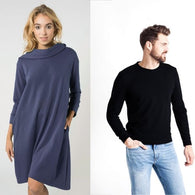 Hoodie Dress + Sweater