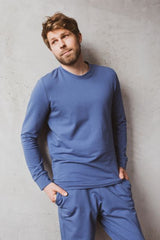 """Homewear"" set for Him - Jeans Blue"