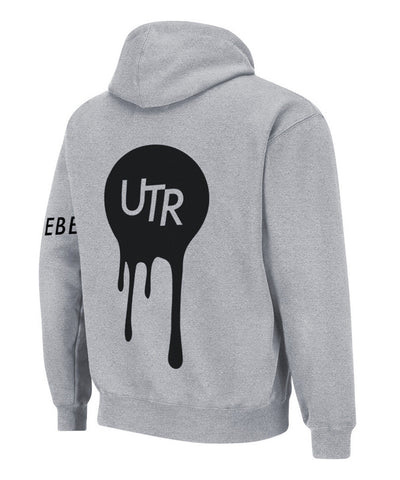 Statement Dripping Orb Hood (Grey) - Unleash The Rebel