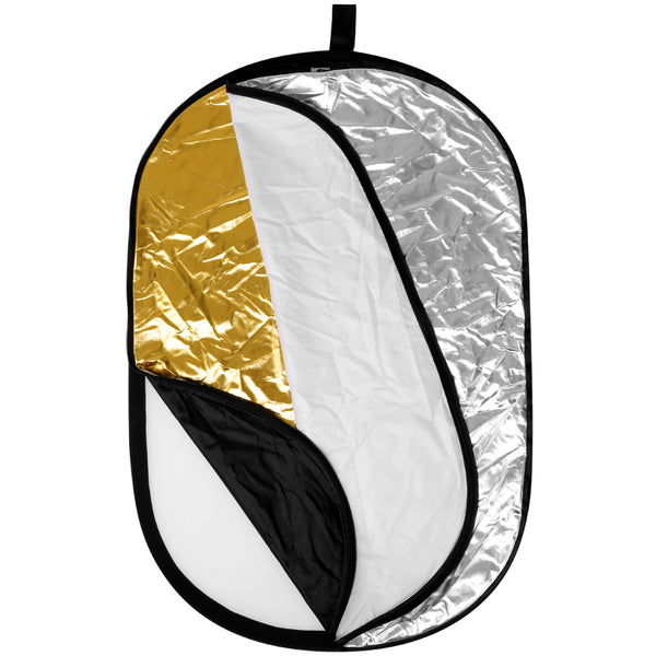 Photography reflector Neewer Multi OVAL 5 in 1 Folding  80 x 120 cm