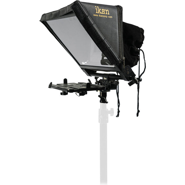 IKAN ELITE PRO LARGE TABLET TELEPROMPTER for Light stands with Remote