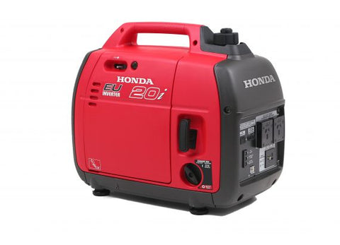 Honda EU20i on set generator