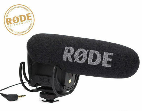 Rode Videomic Pro Super Caridiod Shotgun DV camera Condenser Microphone