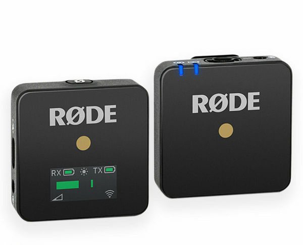 Rode Wireless GO Compact Voice Recording to Camera Wireless System