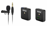 Rode Lavalier GO Professional-Grade Wearable Lapel Microphone Broadcast Mic