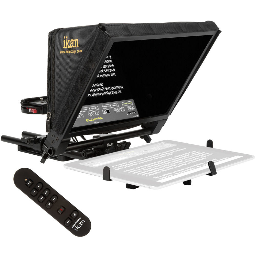 IKAN ELITE PRO LARGE TABLET TELEPROMPTER with Remote