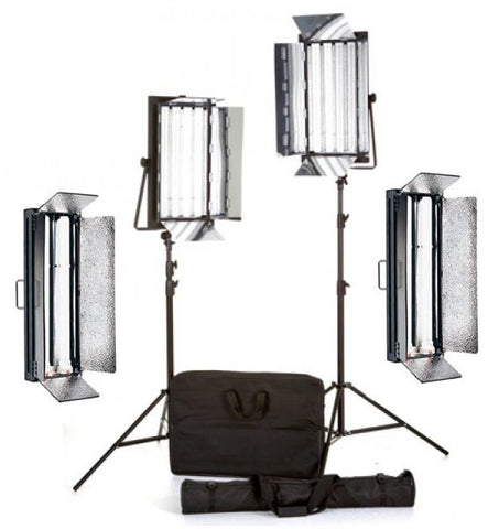 Daylight Balanced 4 Head Fluorescent Light Kit for hire / rent in Melbourne Australia