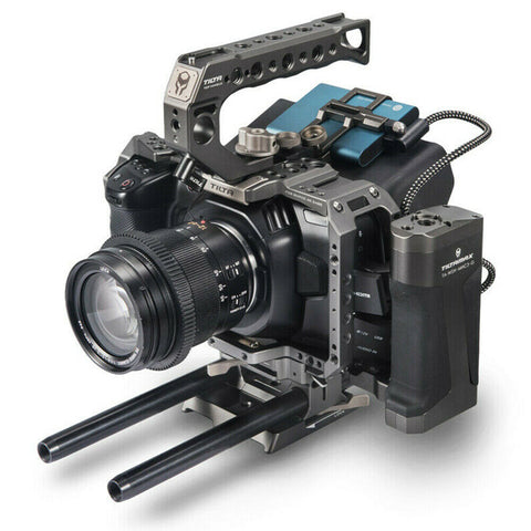 Blackmagic Pocket 6K with 1TB SSD drive and Tilta Advanced cage