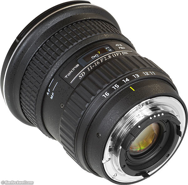 Tokina 11-16mm Ultra Wide Zoom with Cine Gears for rent hire in Melbourne Australia