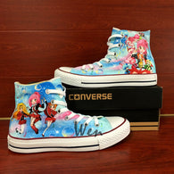 28eced209db346 Anime Shugo Chara Converse All Star Design Hand Painted Canvas Shoes Men  Women