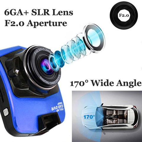 12Mp GT300 Car Dash Camera