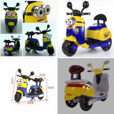 Minions Toy Rechargeable kids motor bike