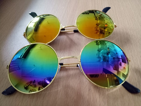 Round Mirrored Sunglass Brandnew Sunglass