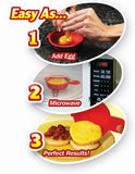 Easy Eggwich Microwave Egg Cooker Set