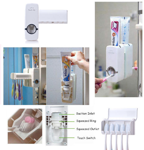 Toothpaste dispenser autoatic