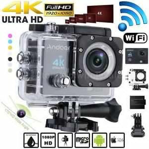 4K WiFi Waterproof Sports Camera Brandnew