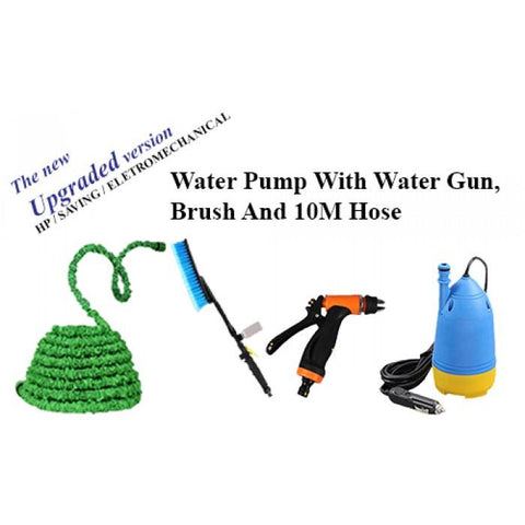 Water Pump With water Gun Brush And 10M Horse
