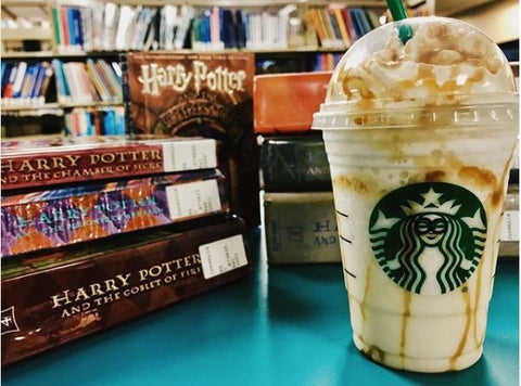 ButterBeer frap Harry Potter Starbucks