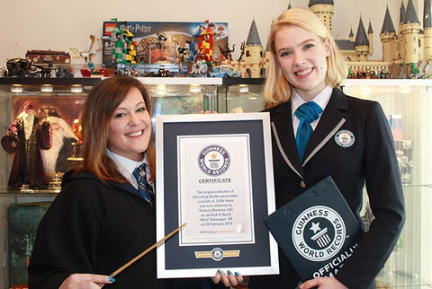 Victoria Maclean Guinness world record for the Wizarding World