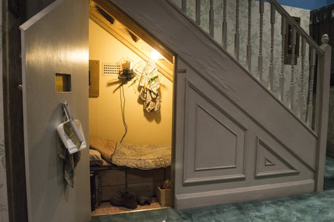 Harry Potter room under the stairs