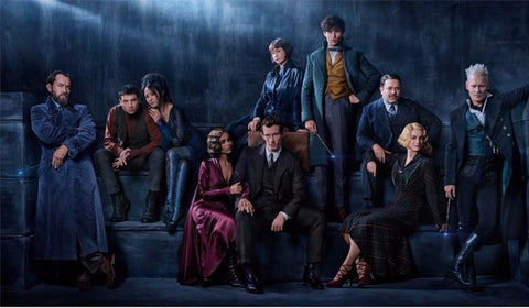 The fantastic Animals: The Crimes of Grindelwald cast