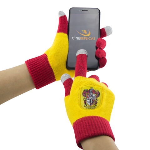 "Gants écran-tactile ""Magic Touch"" Gryffondor Rouge - Unisex Adult"
