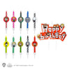 Harry Potter Birthday Candles - Kawaii (Set of 10 + 1 Happy Birthday)