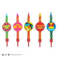 Bougies d'anniversaire Wonder Woman (Set of 10)