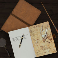 Notebook - PU Leather Notebook - Newt Scamander