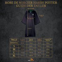 Adultes - Robe de Sorcier Serpentard