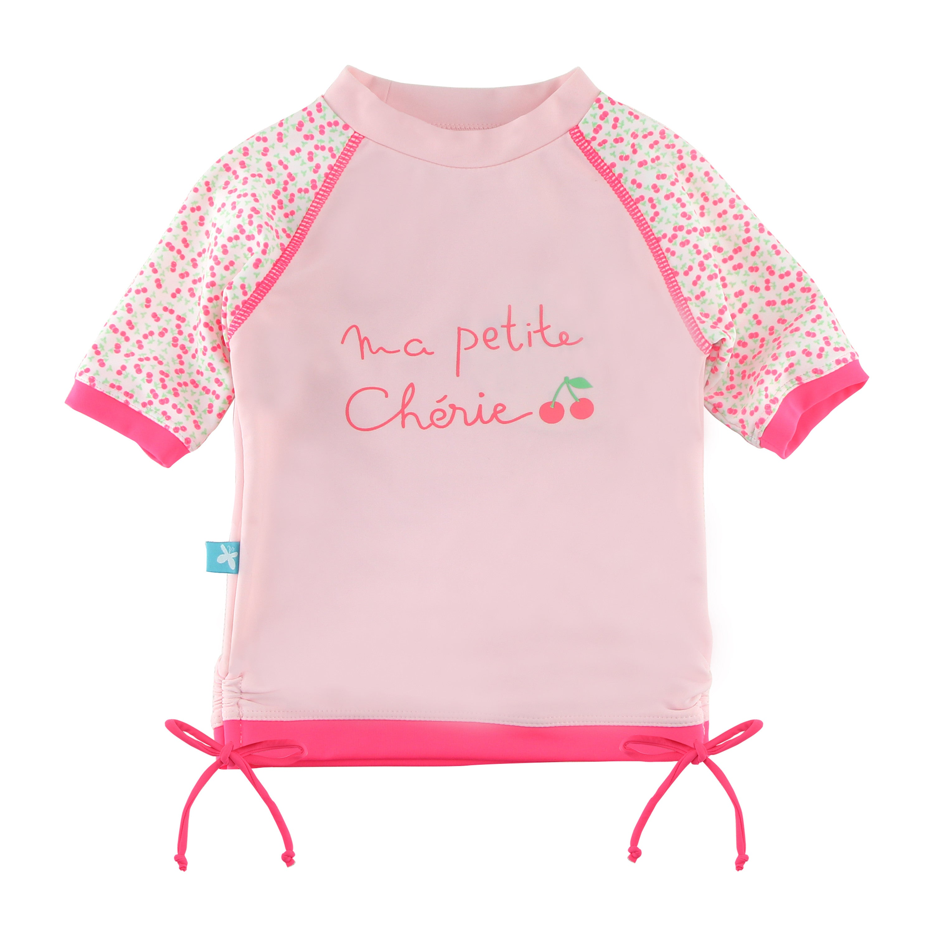 aece2a2b1d ... T-shirt Maillot de bain rose anti uv